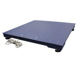 Industry platform floor weighing scales