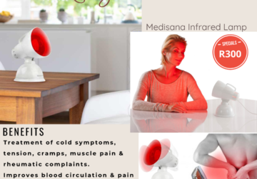 Medisana Infrared Lamp. At R300, makes for the perfect gift