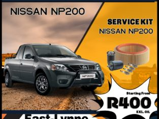 Nissan NP200 Service Kits starting from ONLY R400!