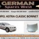 OPEL ASTRA CLASSIC BONNET