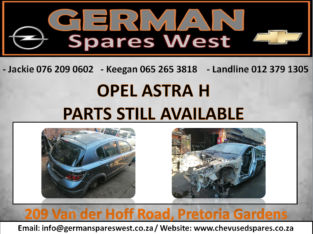 OPEL ASTRA H PARTS STILL AVAILABLE