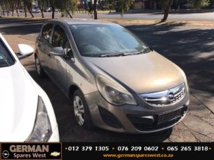 Opel Corsa D 1.4 Essential 2012 Manual Stripping for Used Spares