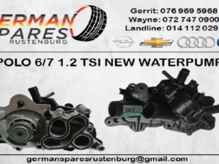 POLO 6/7 1.2 TSI NEW WATER PUMP FOR SALE