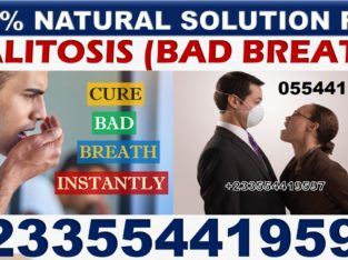 NATURAL REMEDY FOR MOUTH ODOUR