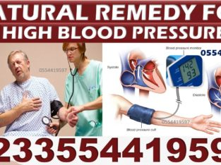 NATURAL REMEDY FOR HYPERTENSION