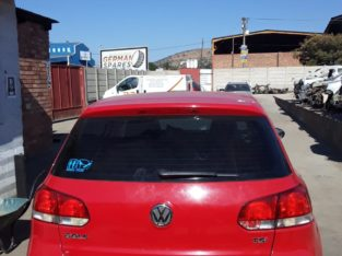 VW GOLF 6 1.4 TSI STRIPPING FOR SPARES