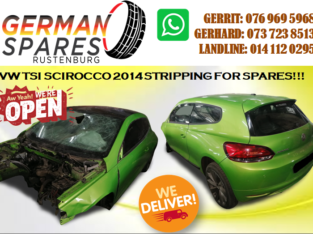 VW SCIROCCO STRIPPING FOR SPARES
