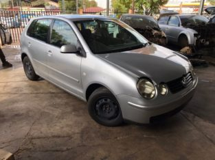 Volkswagen Polo Bujwa 1.4 Auto 2004 BBY Stripping for Used Spares
