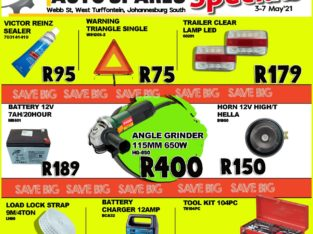Weekly Specials now on at Kliprivier AUTO Spares!