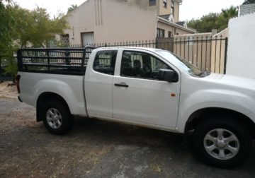 """Bakkie and driver for hire, priced according to your budget"""