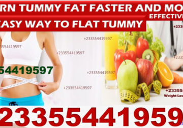 HOW TO GET FLAT TUMMY NATURALLY
