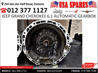 Jeep Grand Cherokee 6.1 Automatic Gearbox for sale