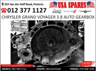 Chrysler Grand Voyager 3.8 Automatic Gearbox for sale