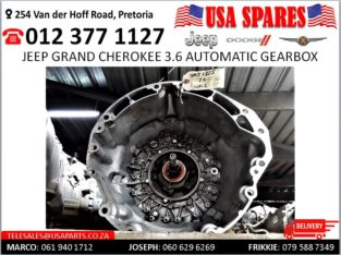 Jeep Grand Cherokee 3.6 Automatic Gearbox for sale