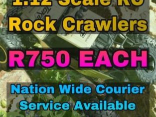 New 1:12 Scale RC Rock Crawlers