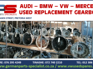 BMW – MERCEDES – VOLKSWAGEN – AUDI USED REPLACEMENT GEARBOXES