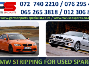 BMW STRIPPING FOR USED SPARES