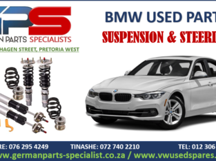 BMW USED REPLACEMENT SUSPENSION AND STEERING PARTS / SPARES