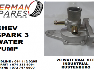 Chev Spark 3 water pump for sale