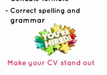 CV's, Cover Letters, LinkedIn Profiles and Interview Preps