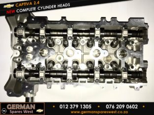Chevrolet Captiva 2.4 New Complete Cylinder Heads LE5/9 Chev