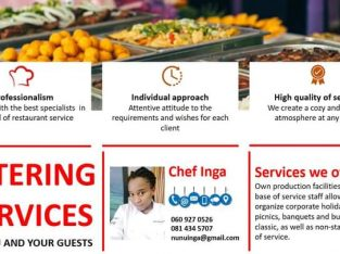 We cater for all events according to the individual customer need
