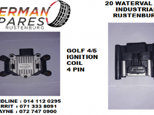 Golf 4/5 ignition coil 4 pin for sale