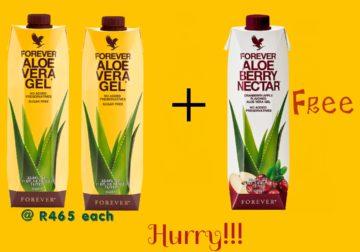 Aloe Vera Drink Promo 3 for 2