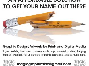 DTP/DESIGN/REPRO Services offered:
