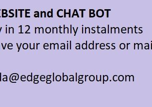 Website and chat bot design and maintain