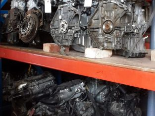 Assorted car engines for sale