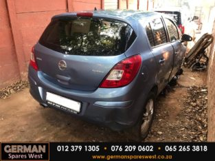 Opel Corsa D Manual Stripping for Used Spares Parts