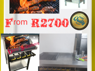 Open Flame Gas Grillers, Meat Grillers