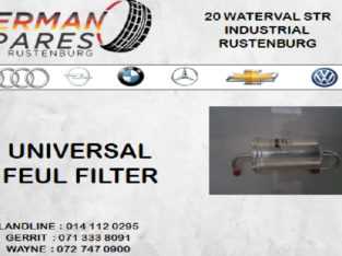 UNIVERSAL FEUL FILTER FOR SALE