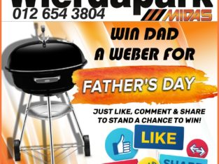 Stand a Chance to WIN a Weber this Father's Day