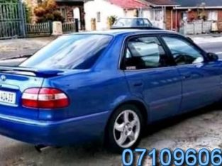 Toyota corolla rxi trd sport for sale in good condition