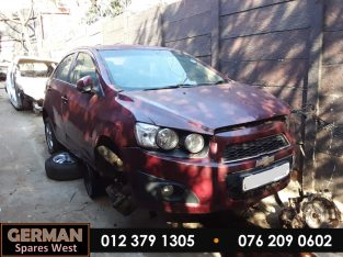 Chevrolet Sonic Sedan 1.4 Auto Stripping for Used Spares