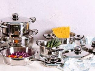 Le Morgan 10pc waterless cookware set