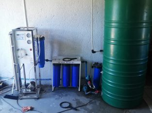Complete water shop setup with free installation and delivery
