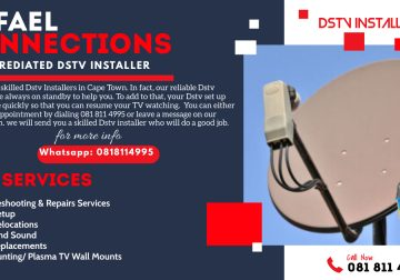 Call 24Hr DStv Installation Cape Town Team Today – 081 811 4995