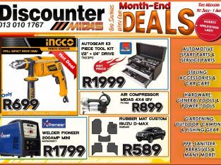 Big Savings with our Month-End Deals at Discounter Midas
