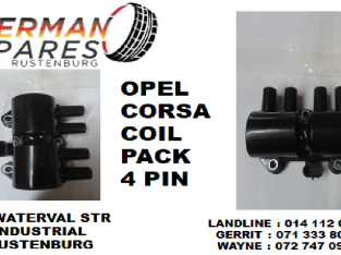 Opel Corsa coil pack 4 pin for sale