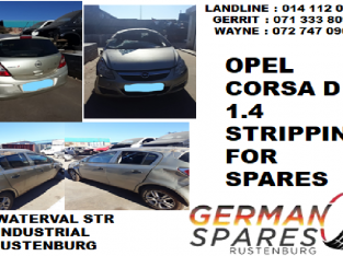 Opel Corsa D 1.4 stripping for spares