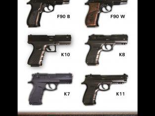 Blank 9mm Pistols