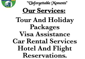 Tours And Travels in East Africa