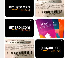 Buying all gift cards