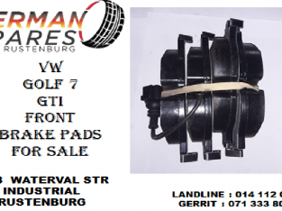 Vw Golf 7 Gti front brake pads for sale