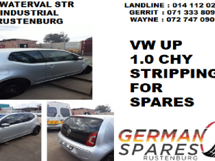 Vw Up 1.0 CHY stripping for spares