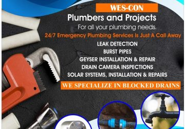Wes-Con Plumbing Services and Projects