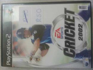 EA Sports Cricket 2002 (PS2)